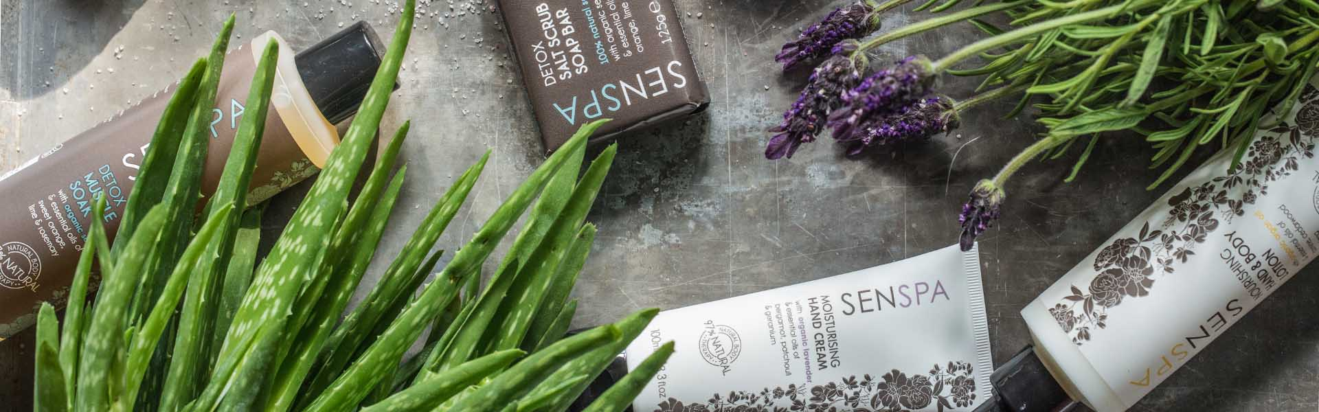 Natural Body Products | SenSpa at Careys Manor