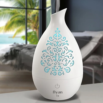 Ayan TX Ultrasonic Aroma Diffuser and Humidifier - white