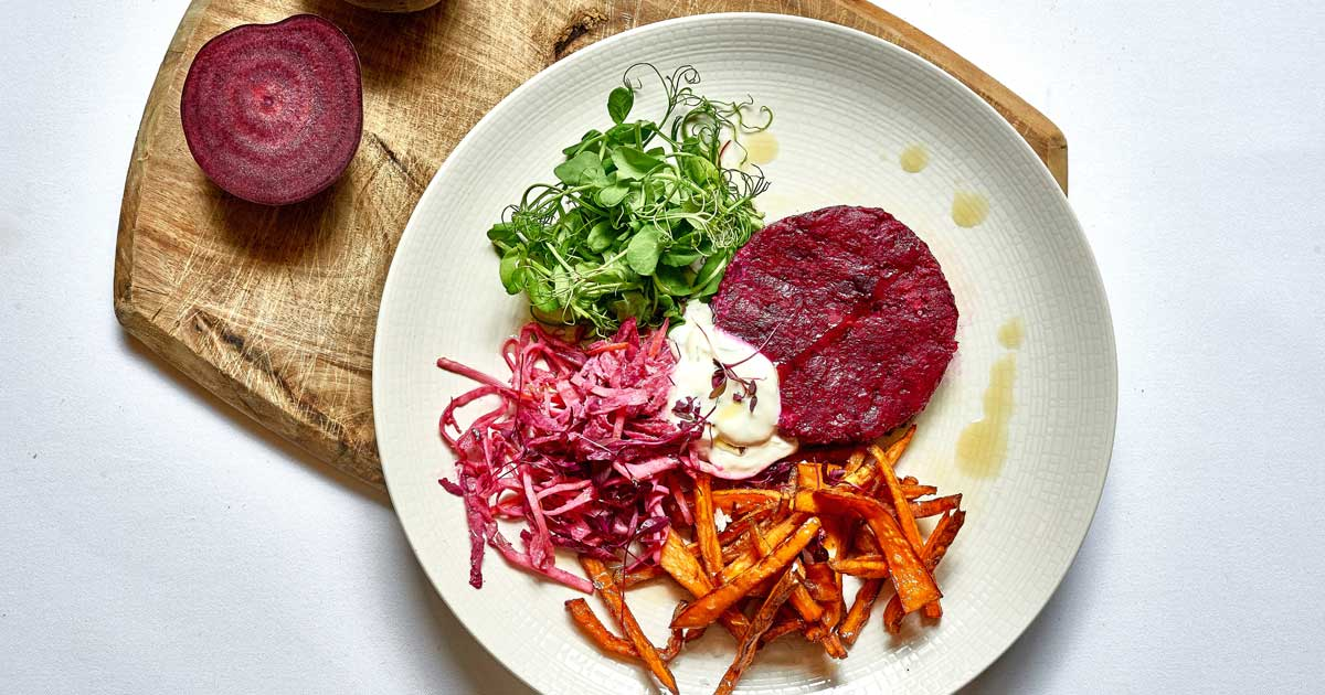 Beetroot-Burger