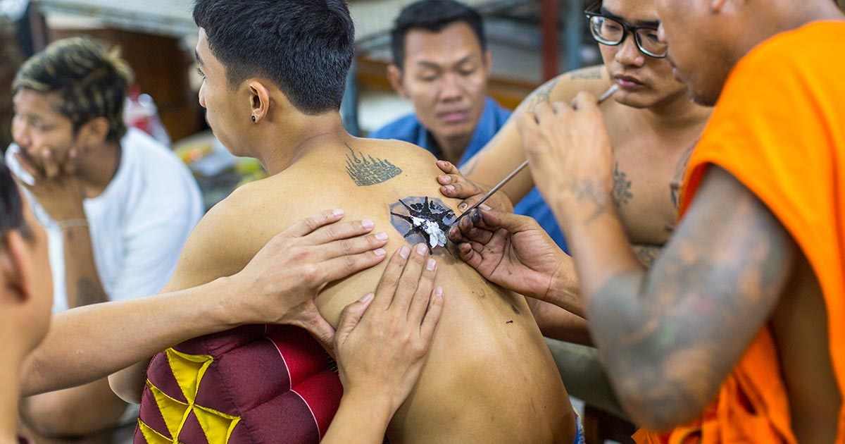 Mystical Thai Tattoos | Thai Spa, SenSpa Blog