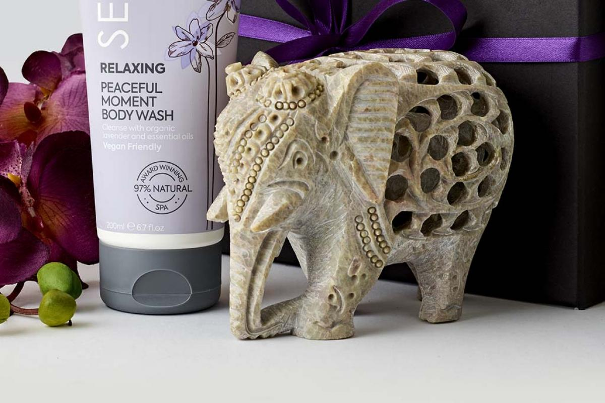 Soap Stone Elephant | SenSpa at Careys Manor