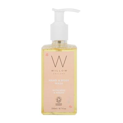 Rose and Argan Hand & Body Wash